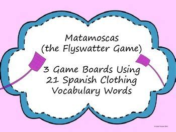 la ropa spanish clothing matamoscas flyswatter game