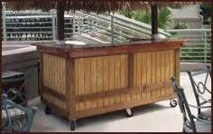 Portable Patio Bar Ideas by Western Wood Bars Cedar This Bar Is Unique To Crux And