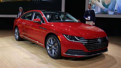 2019 Volkswagen Arteon Brings Its Swooping Roofline To Chicago