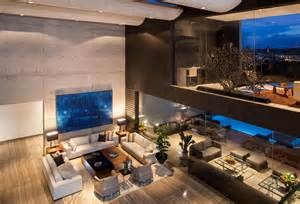 Top 10 Bedrooms In The World by Striking Contemporary Monterrey Home With Gorgeous Double
