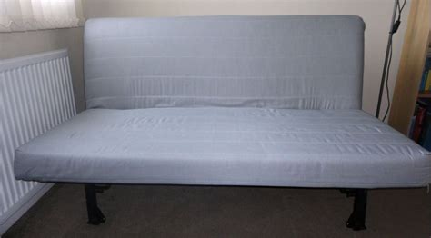 ikea lycksele futon sofa bed frame upgraded thicker komfort mattress comfy i can