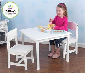 Chaise Et Table Enfant : table et chaises enfant en bois ~ Teatrodelosmanantiales.com Idées de Décoration
