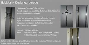 Garderobe Edelstahl Design : edelstahl design garderobe ifb 3d ~ Sanjose-hotels-ca.com Haus und Dekorationen