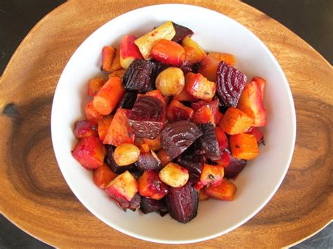 Oven Roasted Root Vegetables  Colorful, Seasonal