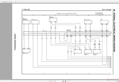 Toyota Yaris Emmu Electrical Wiring