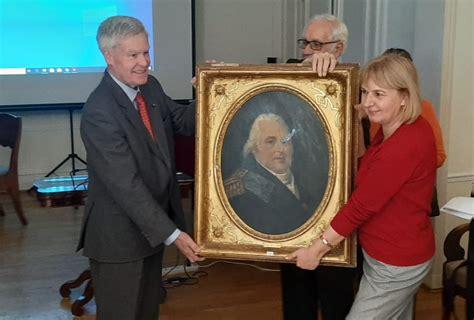 LLU saņem unikālu dāvinājumu - Francijas karaļa Luija XVIII portretu | LLU