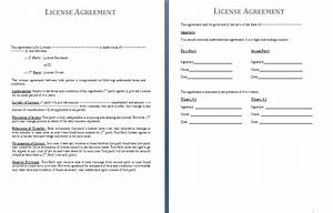 License agreement template free agreement and contract for Photo license agreement template