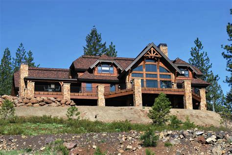 astounding timber home kitchens laurette chateau frame