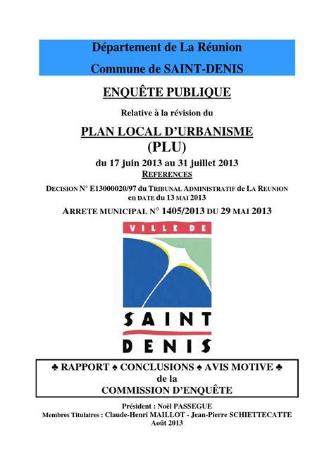 issuu rapport plu 2013 denis de la r 233 union by ville de denis de la r 233 union