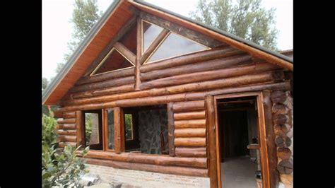 cabanas de troncos youtube