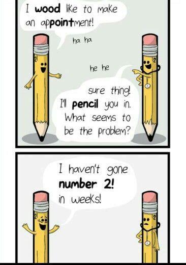 pencil puns humor funny jokes funny puns