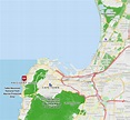 Map for President Hotel - Bantry Bay, Cape Town