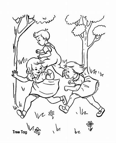 Coloring Pages Games Sheets Birthday Playing Children