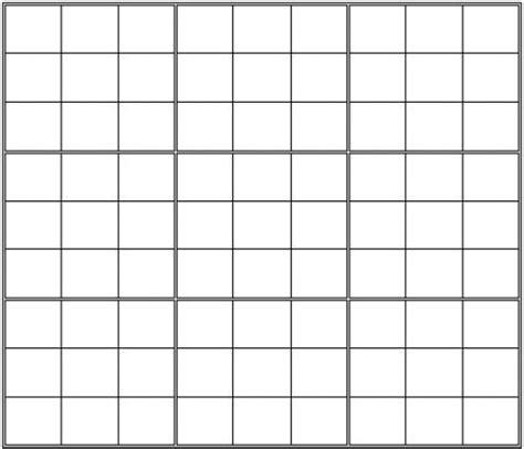 printable blank sudoku grid grid printables dog logic