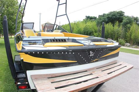 Yellow Boat Wraps by Boat Wraps Vinyl Boat Wraps Graphics