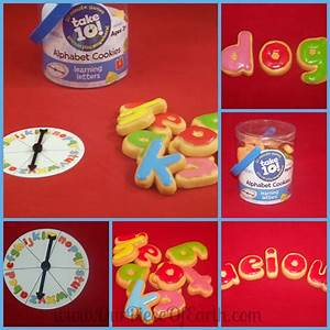 finding one on one time with your kids our piece of earth With cookie letters game