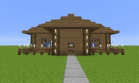 house building ideas easy to build house plans minecraft