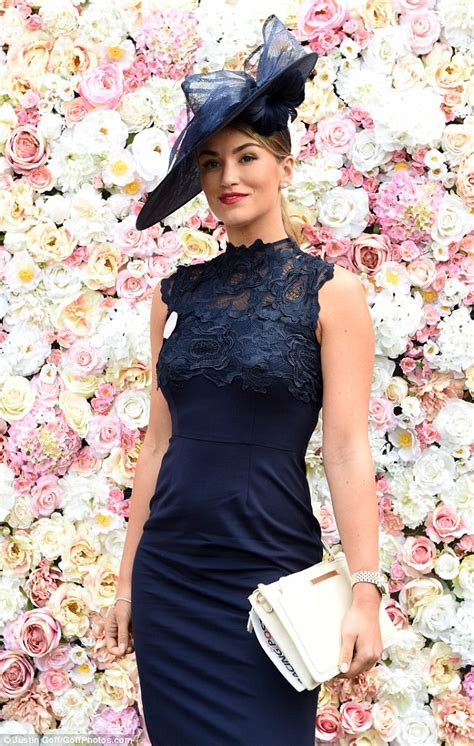 amy willerton  boyfriend daniel day attend royal ascot
