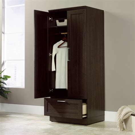 wardrobe closet sauder furniture wardrobe closet