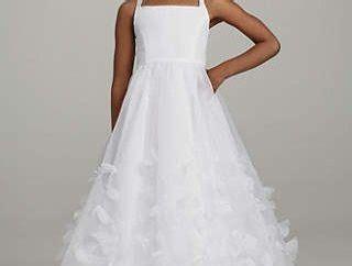 white frocks   stylish designs  women  kid girl