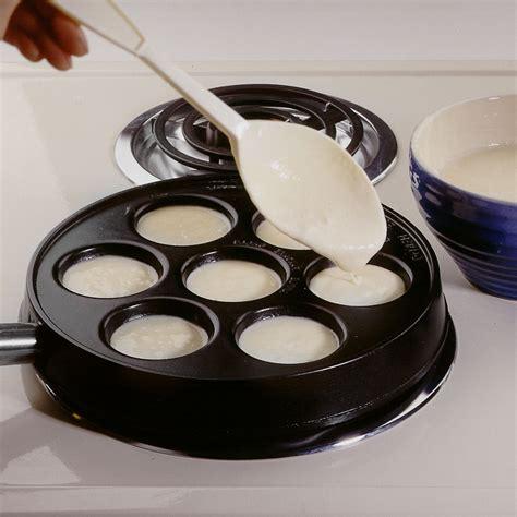 nordicware  danish ebleskiver pancake pan  cutlery
