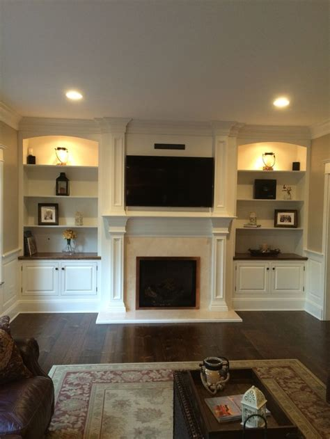 Living Room Design Around Fireplace by 25 Best Of Built In Bookcases Around Fireplace