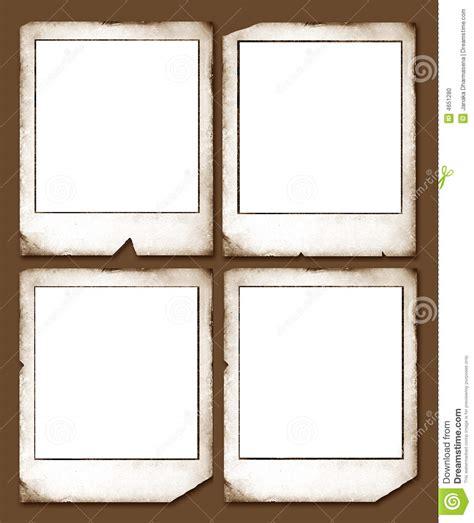 Vintage Polaroid Frames Stock Photo Image: 4651280