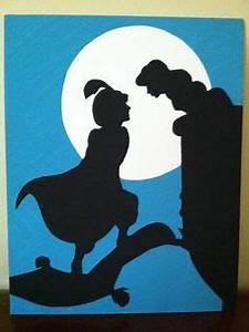 little mermaid silhouette art pinterest ariel With what kind of paint to use on kitchen cabinets for disney princess canvas wall art