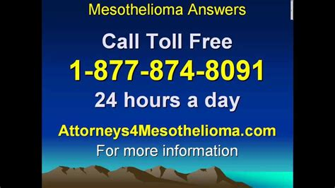mesothelioma lawyers call toll