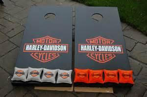 Harley-Davidson Cornhole Game Boards