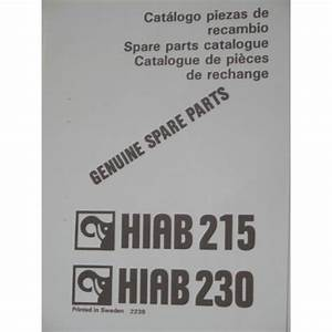 Hiab 215  230 Parts Manual