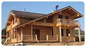 Chalet en bois rondin en kit mzaolcom for Maison en rondin prix 6 construire sa maison en bois en kit soi meme