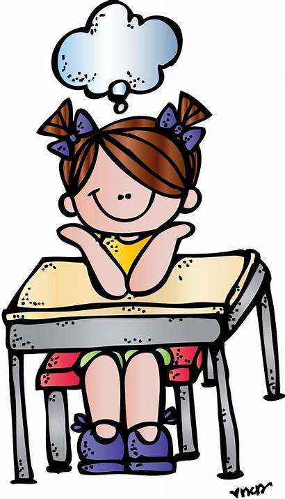 Clipart Melonheadz Classroom Library Cliparts Thinking Clip
