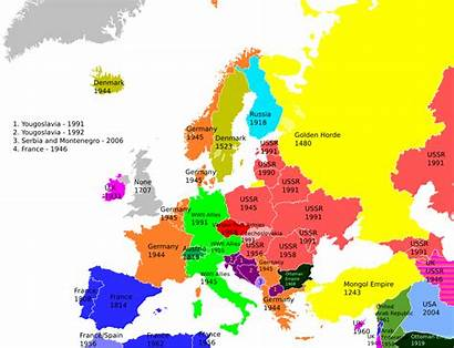 Europe Countries Map Maps