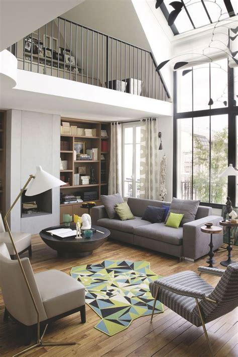 salon contemporain ultra lumineux decoration maison