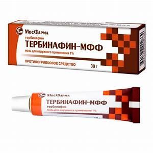 Противогрибковое средство тербинафин-мфф мазь 1 туба 15 г