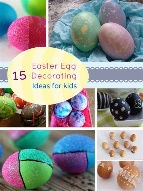 Decorating Ideas For Easter Eggs by 15 Easter Egg Decorating Ideas For My Organized Chaos