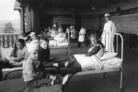 creepy   early  century british hospitals