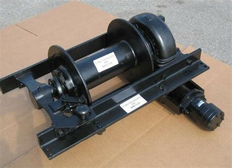 tulsa hydraulic winch assy 18g 20 000 lbs heavy duty truck parts ebay
