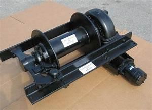Tulsa Hydraulic Winch Assy 18g  20 000 Lbs Heavy Duty