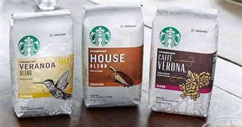 Coffee, tea, refreshers, frappuccinos, iced coffee, via, and bottled coffee. Starbucks Ground Coffee or K-Cups $4.99 with Coupon at Walgreens