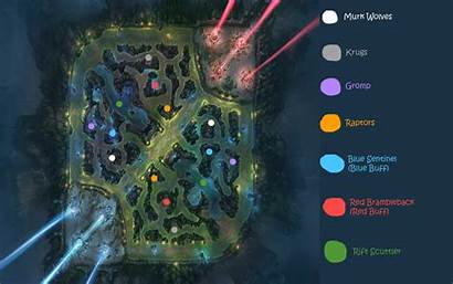 League Jungle Legends Diagram Guide Clearly Beginner