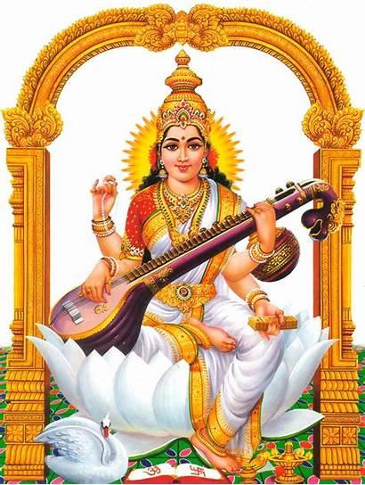 Saraswati Devi God Hindu Lord Saraswathi Goddess