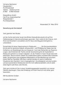 Bewerbung Als Servicekraft : bewerbungsschreiben servicekraft ~ Watch28wear.com Haus und Dekorationen