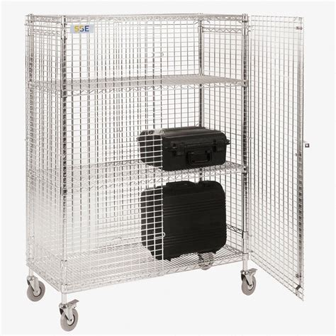 Static And Mobile Esd Mesh Security Cages Static Safe