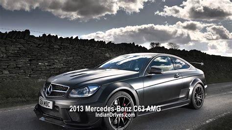 2013 Mercedes-benz C63 Amg Coupe Black Series