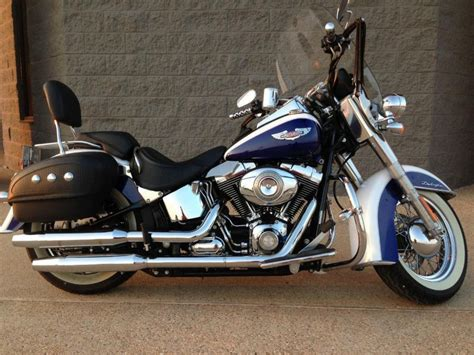 2007 Harley Davidson Softail Deluxe by Buy 2007 Harley Davidson Flstn Softail Deluxe Cruiser On