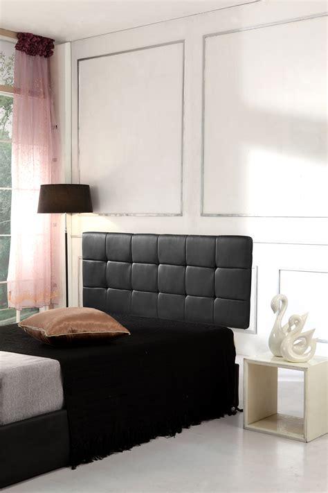 Pu Leather Queen Bed Deluxe Headboard Bedhead Black