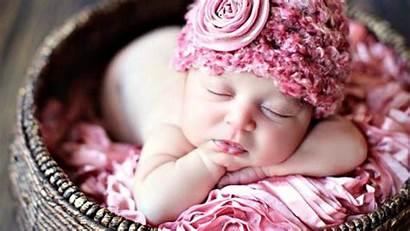 Wallpapers Sweet Babies Newborn Child Wreath Bamboo