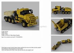 Lego Moc Oshkosh M1070 Civil